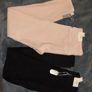 BUNDLE OF 2 NWT AE LEGGINGS - SMALL